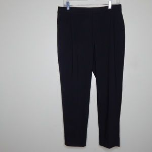 everlane women black wool pant SZ 6